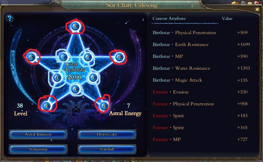 Star Charts Starter Guide  Abysswars Perfectworld Wiki
